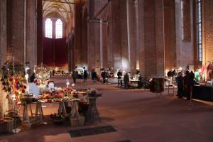 Kunstmarkt 2015 St. Georgenkirche Wismar
