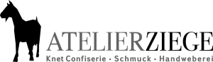Logo des Ateliers Ziege - Knet Confiserie, Schmuck, Handweberei